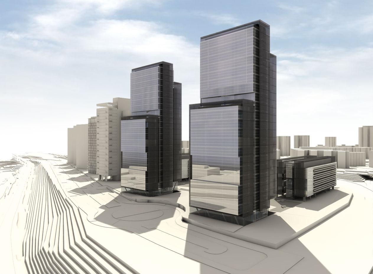 Proyectos torres isla de chamartin allende arquitectos - Arquitectos de madrid ...