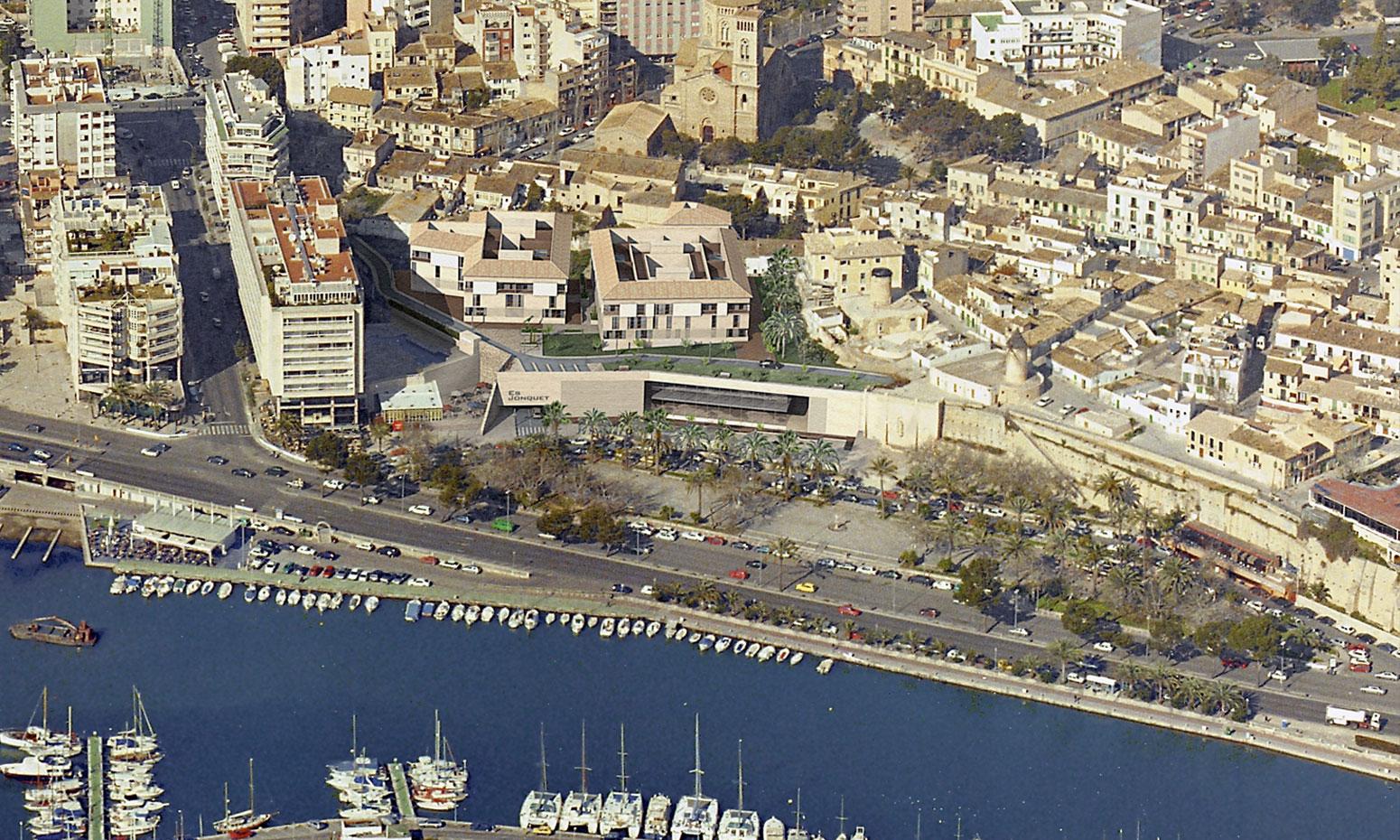 Proyectos c c es jonquet allende arquitectos - Arquitectos palma de mallorca ...
