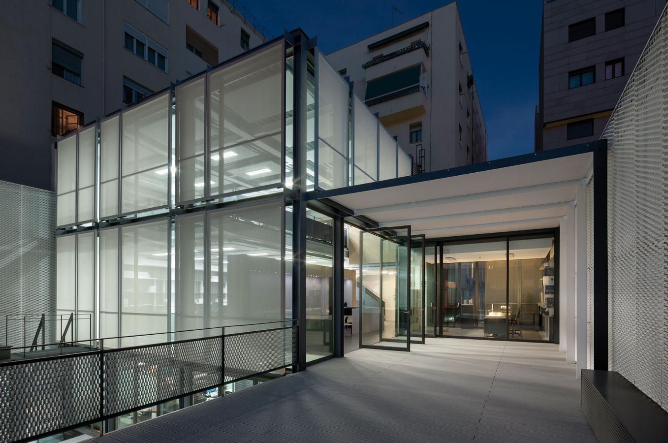 Proyectos edificio all87 allende arquitectos - Arquitectos madrid ...