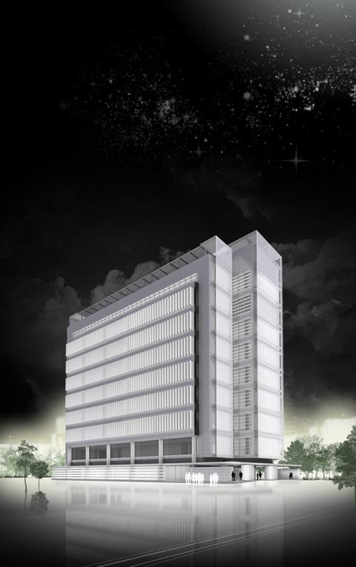 Edificio de allende arquitectos sede corporativa de aena for Oficinas aena madrid