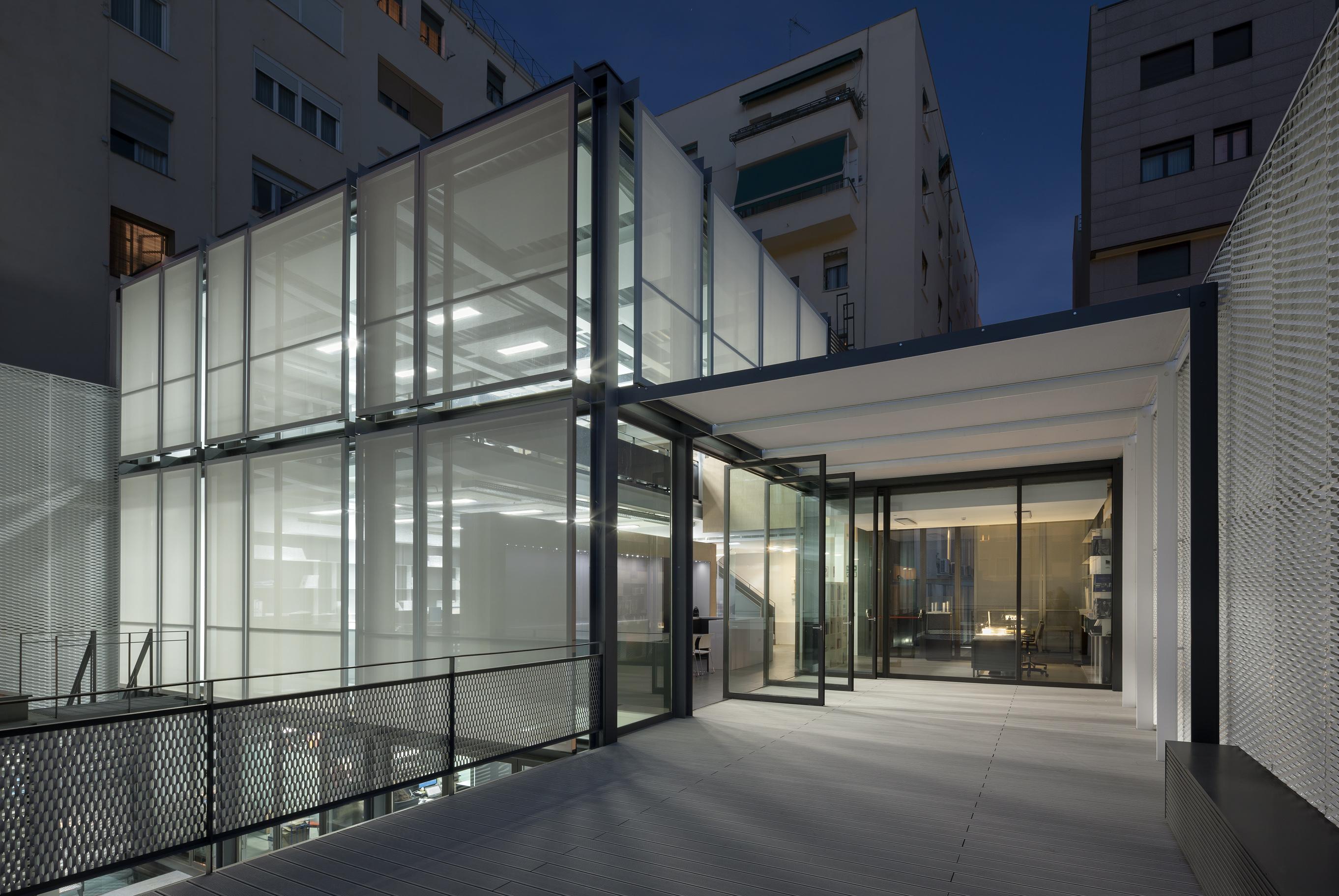 All87 sede de allende arquitectos en madrid allende - Arquitectos madrid ...