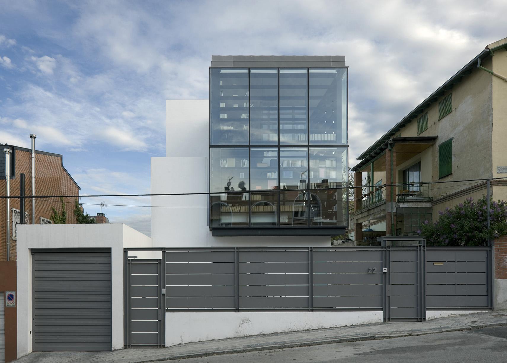 Casa en calle olimpo madrid allende arquitectos - Arquitectos madrid ...