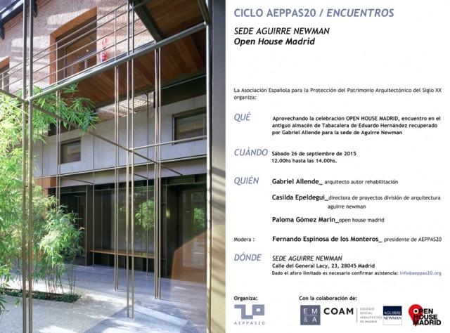 Encuentro organizado por aeppas20 en la sede de aguirre - Aguirre newman arquitectura ...